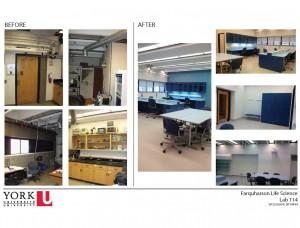 Undergraduate student labs in Farquharson