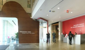 DiscoverYork Welcome Centre at Bennett Centre for Student Services