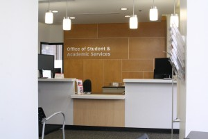 New office space for Office of Student & Academic Services, Faculty of Health, Calumet College
