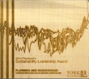 Presidents 2014 Leadership Award